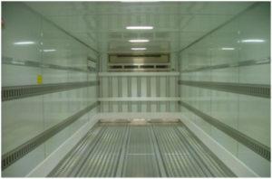 抗菌仕様冷凍車